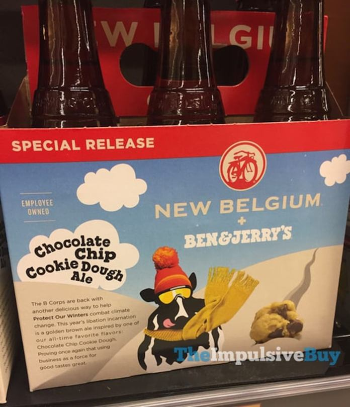 New Belgium Brewery and Ben and Jerry's have produced the Chocolate Chip Cookie Dough Ale and are working with Protect Our Winters to combat climate change. (theimpulsivebuy/Flickr Creative Commons)