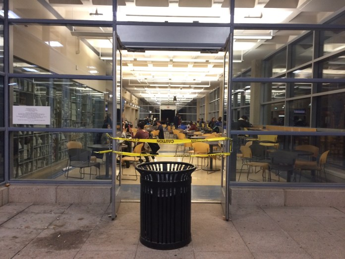 An unpleasant smell caused patrons of Bookworms Café to evacuate. The source of the smell was a wire shortage.(Patricia Sundman/The Daily Campus)