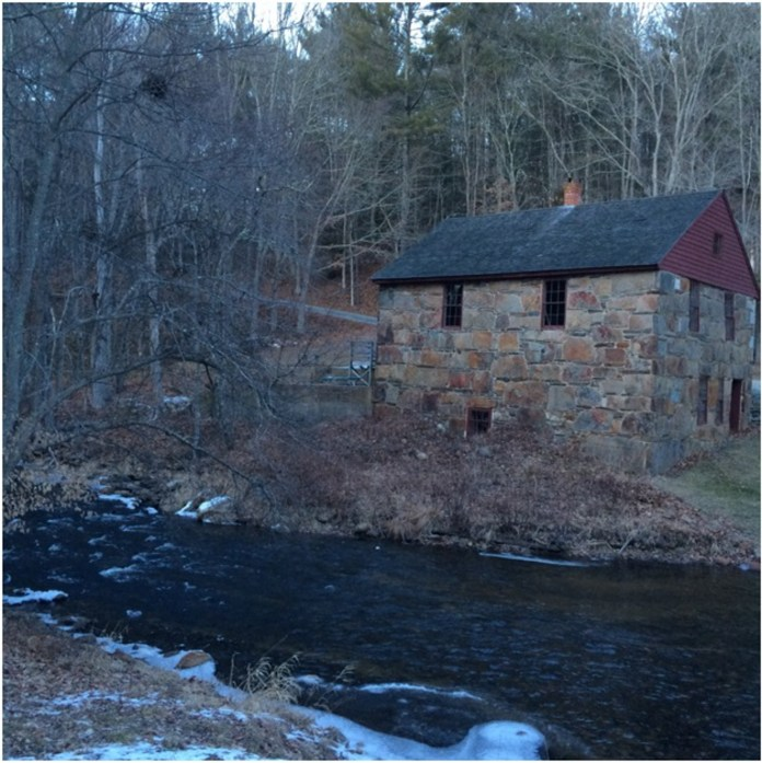 Other hidden gems can be found just off the trails along Gurleyville Road, such as the Gurleyville Gristmill. (Katie Pelkey/The Daily Campus)
