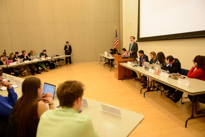 After USG election results were held from students for over two weeks, a recent Daily Campus article shows the USG judiciary has been involved in every presidential election since 2011, except in 2015 when Rachel Conboy ran unopposed.(Jason Jiang/The Daily Campus)