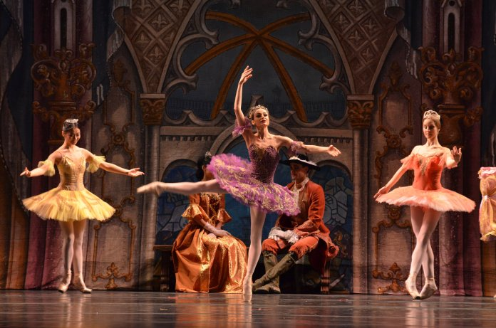 """The Russian National Ballet Theatre first premiered """"The Sleeping Beauty"""" in 1980, and continues to perform it on stage to this day. (Akshara Thejaswi/The Daily Campus)"""
