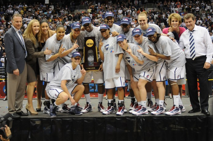 On April 6, 2010 the UConn women's basketball team won the National Championships against Stanford 53-47. (File Photo/ The Daily Campus)