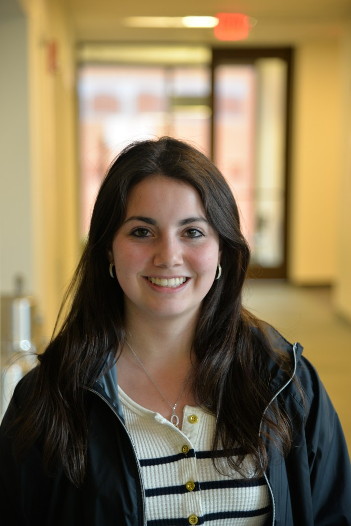 Alexis Alvarez, a fourth-semester finance major minoring in communication who currently serves as UCTV's general assistant, will be the organization's 2017-18 general manager. (Amar Batra/The Daily Campus)