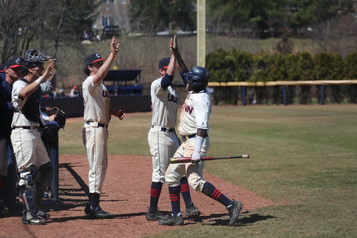 UConn started off their conference schedule in style with a huge road sweep of the formerly ranked East Carolina Pirates and they kept it rolling with a sweep of the Memphis Tigers this weekend. (Amar Batra/The Daily Campus)