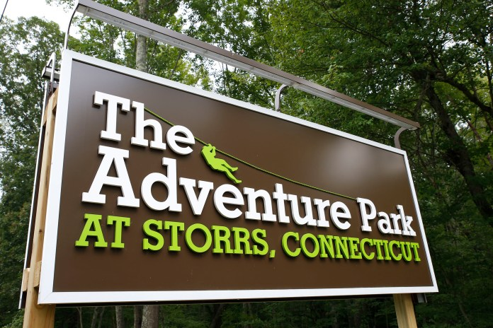 The Adventure Park at Storrs is offering free shuttles from the University on Friday evenings. (Tyler Benton/The Daily Campus)
