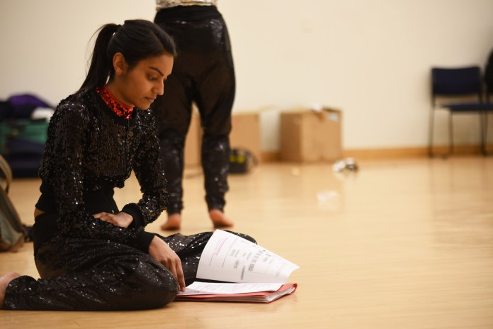 Niki Patel studies before their practice. While this is the time the many students are done with their meetings and activities, practice for Surya is just starting. It usually goes from 9-11 on the weekdays, and while the practices can be difficult, the friendships and connections that are made are irreplaceable.