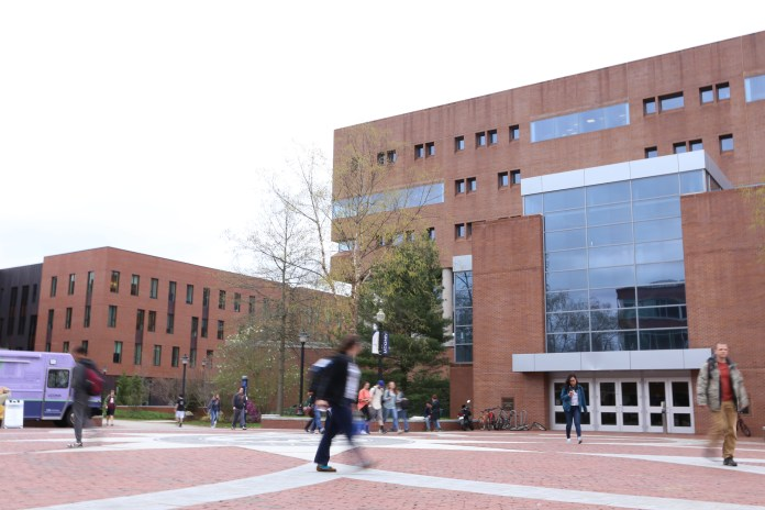 """""""This year, when we looked at our pool…when we looked at the students who just missed the cutoff for Storrs (they) were offered the chance to start at a regional campus,"""" said UConn's Assistant Vice President for Enrollment and Director of Admissions Nathan Fuerst. (File Photo/The Daily Campus)"""