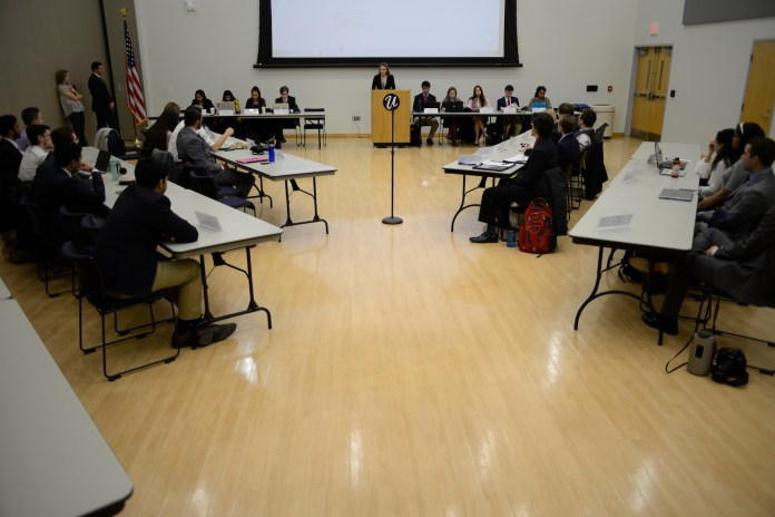The University of Connecticut Undergraduate Senate held their first meeting Wednesday night.(File photo/The Daily Campus)