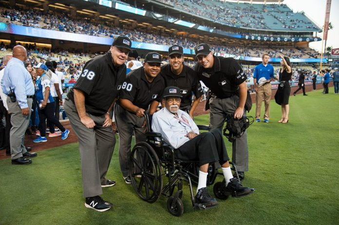 The last living umpire from the Negro Leagues, Bob Motley, passed away at the age of 94. ( Bob Motley, Facebook )