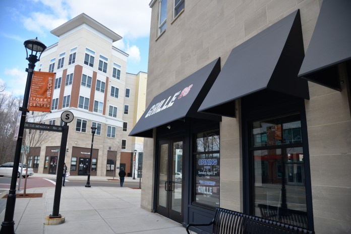 Grille 86 is one of the newer businesses in Storrs Center. (File Photo/The Daily Campus)
