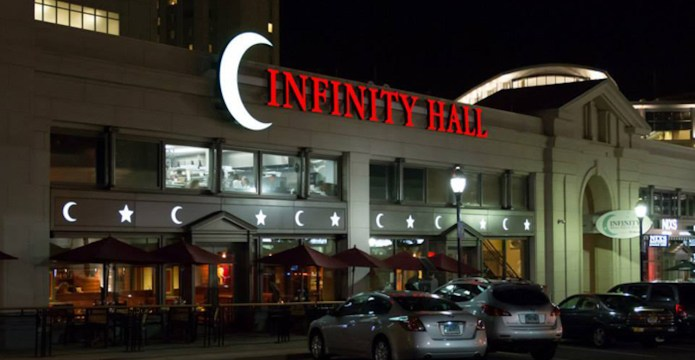 The University of Connecticut Symphony Orchestra traveled to Hartford Friday night to perform at the Infinity Music Hall with featured violinist Solomiya Ivakhiv. (Screenshot courtesy of  Hartford Infinity Hall )