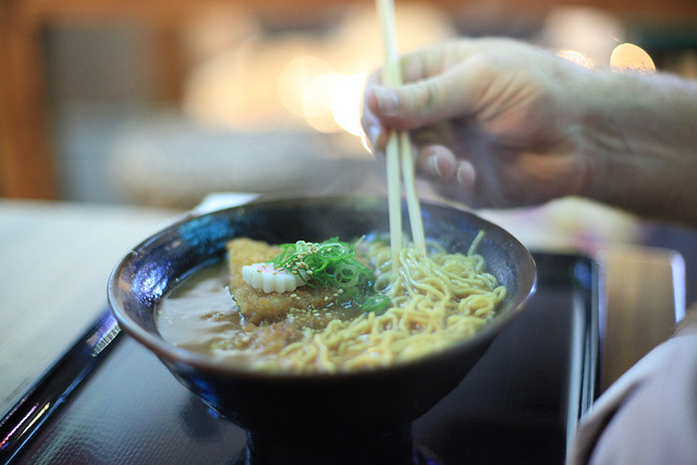 Daddy's Noodle Shop will be replacing FroyoWorld this January in Storrs Center and serving authentic ramen noodles. (Creative Commons/Shubert Ciencia)