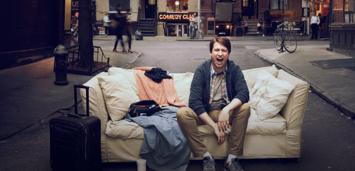 """Creator, comedian and star Pete Holmes is back for a second season of his well-received new show """"Crashing,"""" which premiered on Jan. 14th. (screenshot/HBO)"""