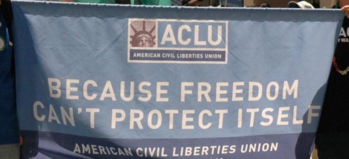 The ACLU has stated that students at public high schools and colleges are protected by the First Amendment while attending their school. (Michael Hanscom/Creative Commons)