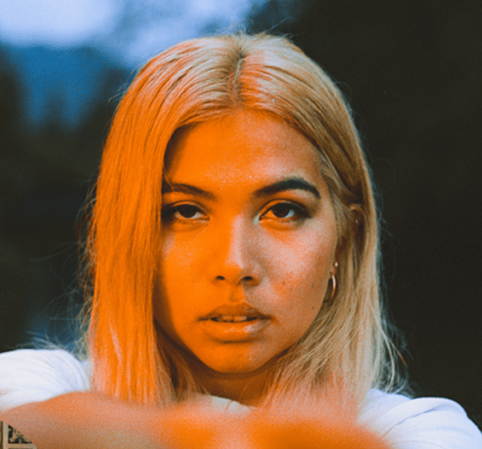 """Hayley Kiyoko will be at the Paradise Rock Club and TD Garden in Boston on June 15 and July 25, respectively for her aptly titled """"Expectations North American Tour.""""(Hayley Kiyoko/screenshot from website)"""