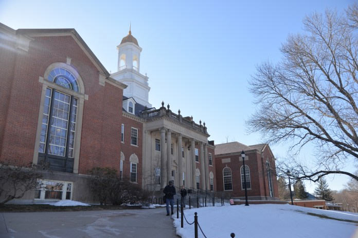 Wilbur Cross is home to one of UConn's many cafes. Also inside are several study areas, Residential Life, and Financial Aid. (File Photo/The Daily Campus)