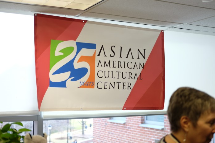 The Asian American Cultural Center celebrates its 25th Anniversary on Wednesday, Apr. 11. Students gather to enjoy the center's many games as well as the people they support. (Jon Sammis/The Daily Campus)