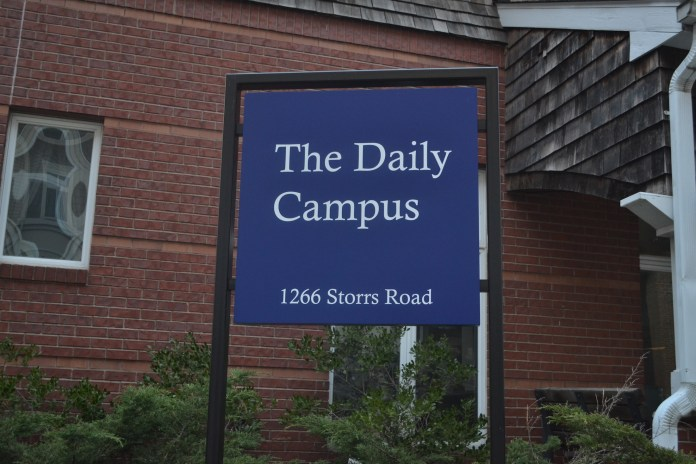 Though the UConn Daily Campus has published controversial stories in the past criticizing the UConn administration, the university stands behind the paper and its independent status, UConn spokesperson Stephanie Reitz said. (Olivia Stenger/The Daily Campus)