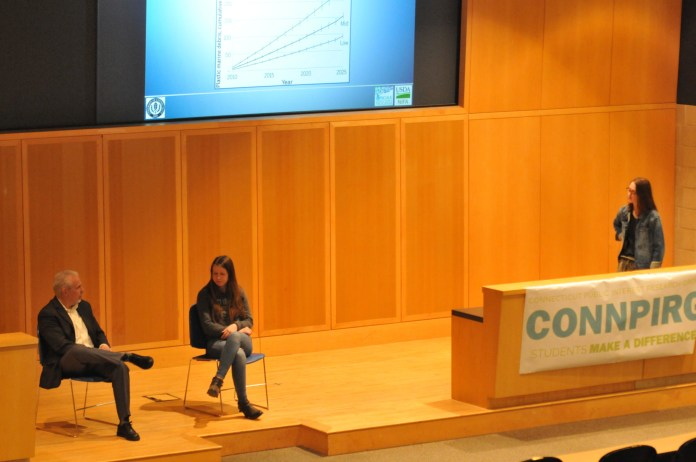 UConn PIRG is proposing changes to the design of student government election ballots.(Natalija Marosz/The Daily Campus)