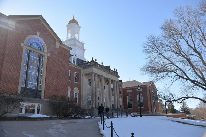University of Connecticut spokesperson Stephanie Reitz said that while UConn has dealt with an outbreak of illness originating from Buckley Dining Hall in 2015, there have not been any outbreaks near the extent of the norovirus at WCSU. (Amar Batra/The Daily Campus)
