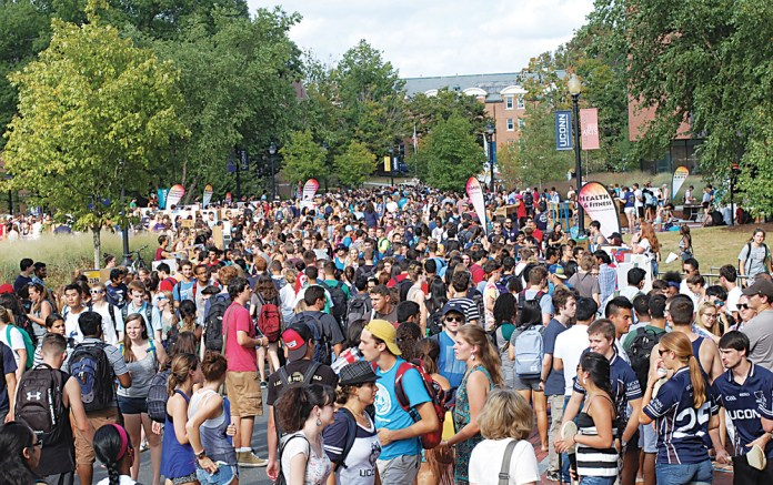 Find your club! But don't get overwhelmed. (File photo/The Daily Campus)