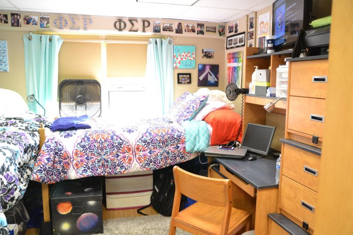 A look inside a dorm room in the Northwest Residential Halls.(File photo/The Daily Campus)