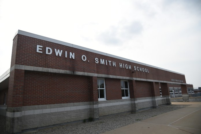 Scandal has embroiled the local E.O. Smith High School lately (Charlotte Lao/The Daily Campus)