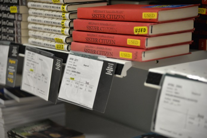 The bookstore has a lots of supplies for the year ahead (File Photo/The Daily Campus)