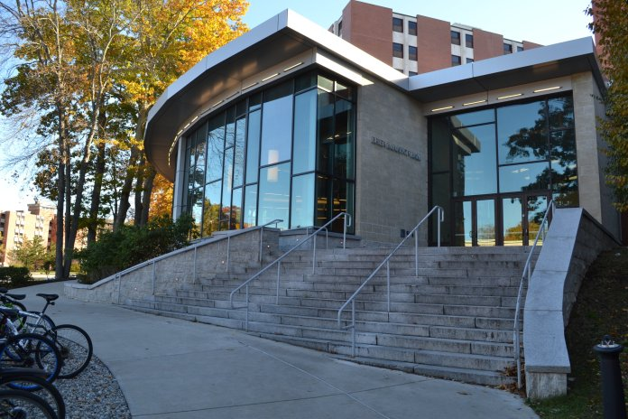 Though McMahon dining unit was closed on September 5th (the day after the incident), Pierce said that that the closing was due to a grease drainage issue, and was not related to the September fourth worm issue. (File/The Daily Campus)