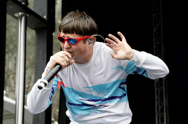 Oliver Tree performs on the Panhandle Stage during the 2017 Outside Lands Music And Arts Festival at Golden Gate Park on Aug. 11, 2017 in San Francisco. (FilmMagic/FilmMagic)