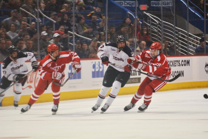 Normally the toast of the College Hockey world, Boston University and Boston College are off to less-than stellar starts in 2018. (File Photo/ The Daily Campus)