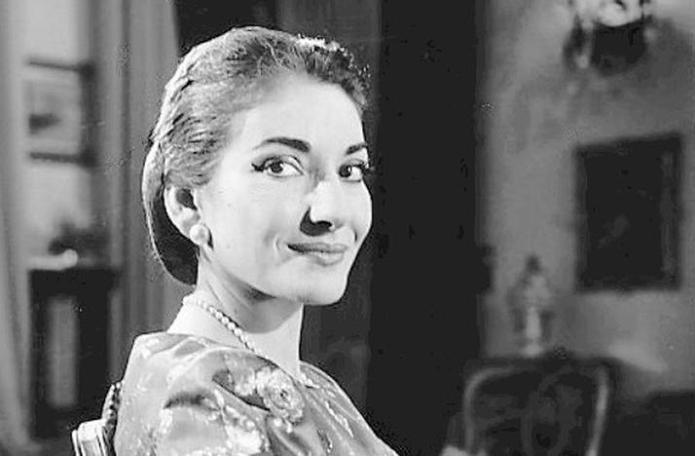 Remembering Maria Callas, 40 Years After Her Death.  Maria Callas in 1958. CBS TELEVISION/WIKIMEDIA COMMONS