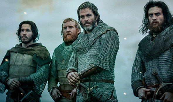Outlaw King on Netflix: Does Chris Pine really bare all in Netflix historical drama? OUTLAW KING is another Netflix step in the direction of bonafide critically-acclaimed movies. But does Chris Pine really bare all in the historical drama? Outlaw King: Netflix's Outlaw King features Chris Pine as Robert the Bruce(Image: Netflix)