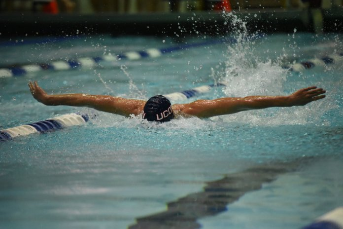 UConn Swimming and diving teams will looking to defend a title when they head to Indianapolis this weekend. (Charlotte Lao/ The Daily Campus)