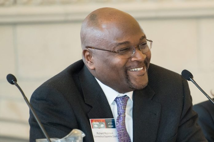 Connecticut Supreme Court Chief Justice Richard A. Robinson will speak at the University of Connecticut's 2019 Dr. Martin Luther King Jr. Living Legacy Convocation on Jan. 24. (Spencer Sloan for UConn)