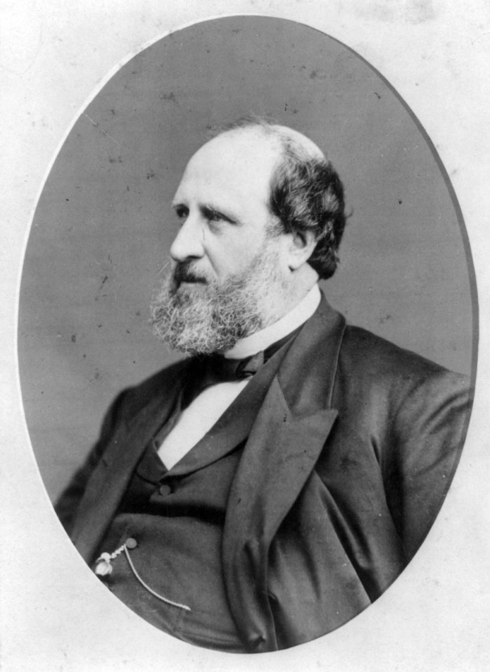"""On Dec. 4, 1875, William Tweed escaped from jail and fled overseas to avoid jurisdiction. Tweed was nicknamed """"Boss Tweed"""" for his involvement in Tammany Hall, the Democratic political machine based in New York. ( Public Domain/Wikimedia Commons )"""