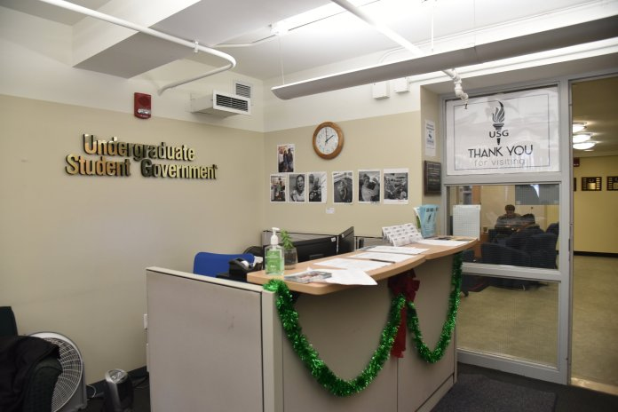 Office of Undergraduate Student Government. (Photo by Eric Wang/The Daily Campus)