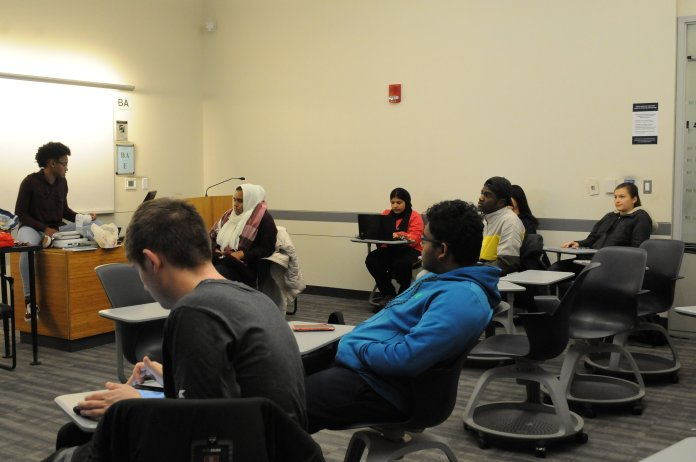 The University of Connecticut Honors Program hosted a discussion regarding crime and addiction. (Nicole Jain/ The Daily Campus)