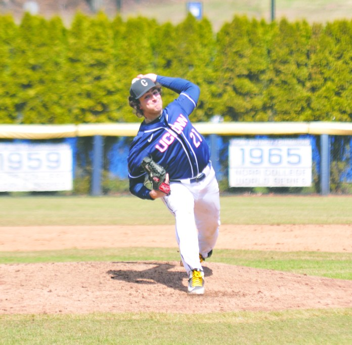 Junior Mason Feole figures to build off a phenomenal year as the Huskies ace. File Photo/The Daily Campus