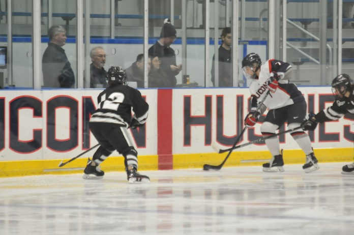 With their winning streak, now at four, dating back to Dec. 1, the women extended it to six games after they swept UNH. (Congyang An/The Daily Campus)