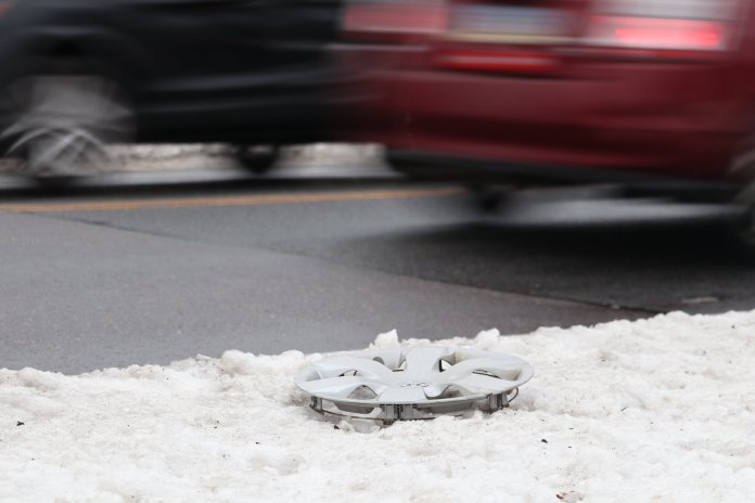 University of Connecticut Police department is advising students to take precautions on wintery roads (Judah Shingleton/The Daily Campus)