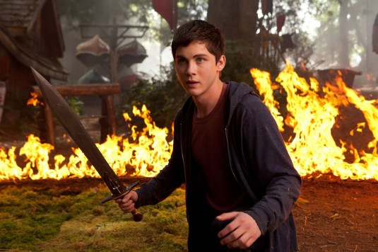 Logan Lerman as Percy Jackson in the Percy Jackson & the Olympians: The Lightning Thief. (bangdoll/Flickr Creative Commons)
