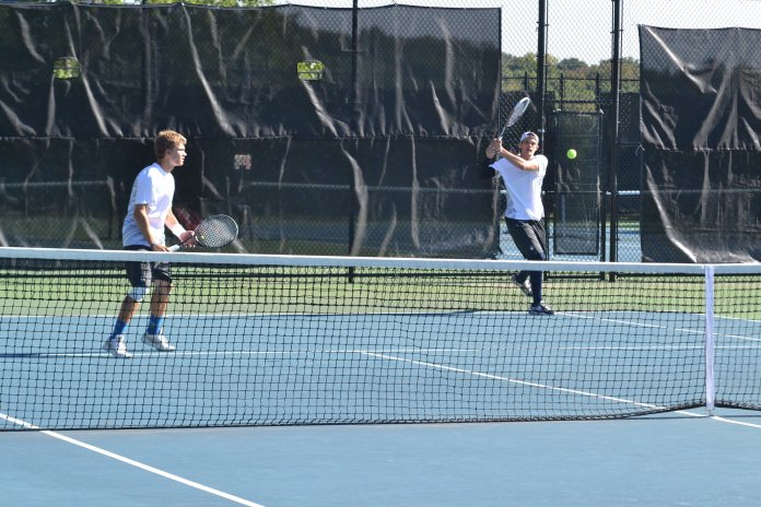 UConn Men's Tennis. (File Photo/The Daily Campus)