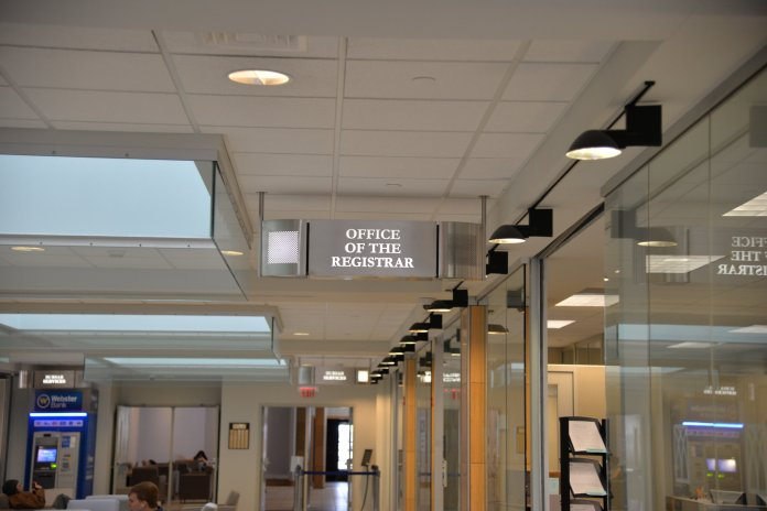 UConn office of the registrar. (File Photo/The Daily Campus)
