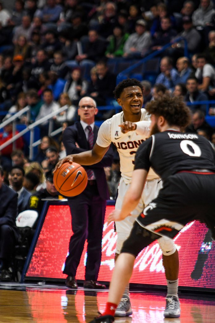 Alterique Gilbert has become the difference maker the Huskies have been searching for all season. Photo by Judah Shingleton/Staff Photographer