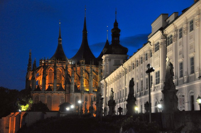 Kutna Hora is a small town of about 20,000 people that is located about an hour east of Prague.  (Herbert Frank/Flickr, Creative Commons)