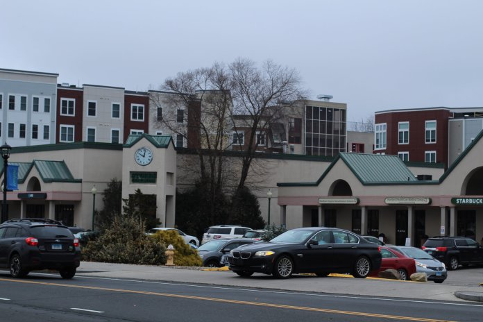 Certain store tenants in Storrs Center have lost business due to aggressive ticketing by attendants from LAZ Parking, which manages the parking garage for Storrs Center. (Kimberly Nguyen/The Daily Campus)
