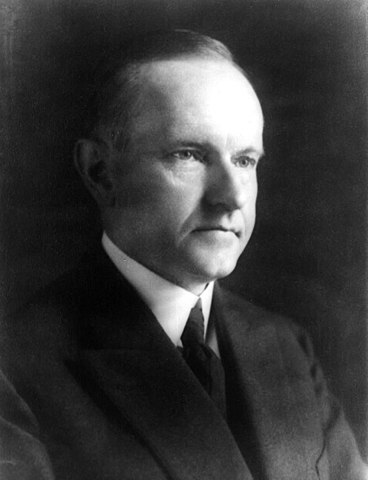 On March 4, 1925, President Calvin Coolidge delivered his second inaugural address to begin his second and only full term in office as president. (Public Domain/Wikimedia Commons)