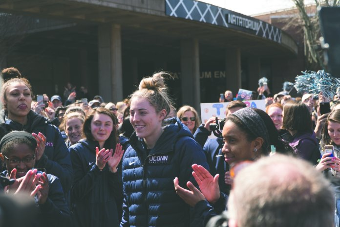 Katie Lou Samuelson. (Photo by eric wang/The Daily Campus)