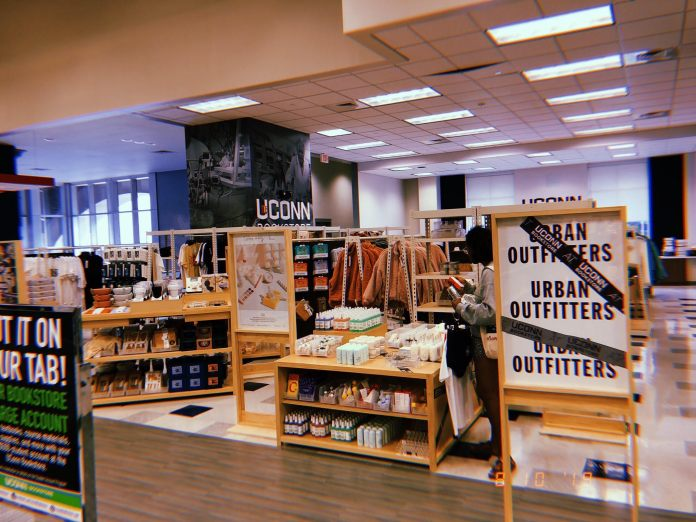 """""""Urban Outfitters has opened shop in ten of our Barnes & Noble College stores, including UConn,"""" representatives from Barnes & Noble said in a statement.  Photo courtesy of Twitter"""